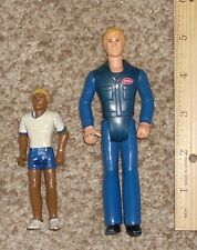 Vintage 1970's 1980's Tonka Driver Action Figures Toy Lot of 2