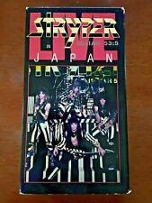 Stryper - In Japan 1985 Rare VHS Hair Metal - FREE SHIPPING