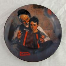 Rockwell Music Maker Knowles Collector Plate w Box & Certificate