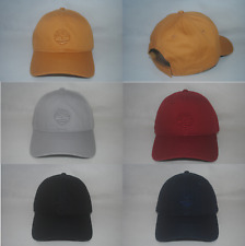 New Timberland Men's Embroided Baseball Hat Cap Adjustable OSFM More Colors