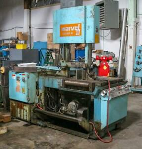 Marvel Series 81, Model 81-8/M5/S1/S2  Vertical Band Saw