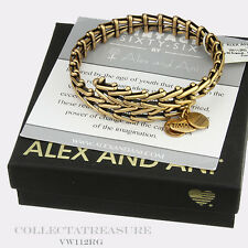 Authentic Alex and Ani Vintage Gypsy 66 Rafaelian Gold