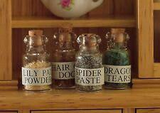 Dolls House Emporium Miniature Échelle 1/12th 4 de sorcière potions Halloween 4023
