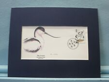 The Avocet - one of Great Britain's rarest birds & First Day Cover of its stamp
