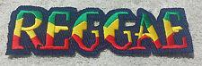 REGGAE RASTA MUSIC PATCH Cloth Badge/Emblem/Insignia Biker Jacket Rastafarian