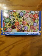 Puzzlebug 500 Piece Vintage Botgle Caps