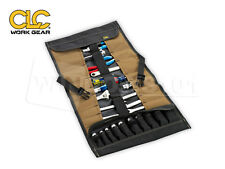 CLC 1173 Custom Leathercraft 32 Pocket Socket & Tool Roll Up Pouch - FREE SHIP!