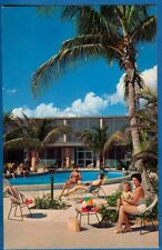 Suntide Apartments, On Shores Of Gulf At Lido Bch, Sarasota, FL - Ladies At Pool