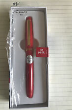 New Edition Red  PILOT 78G+ M nib Fountain Pen 22 K(Made in Japan)
