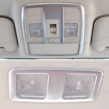 For Mazda CX-5 CX5 2013-15 Front+Rear Roof Map Reading Light Lamp ABS Trim Cover
