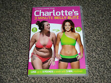 CHARLOTTE'S (CROSBY) GEORDIE SHORE 3 MINUTE BELLY BLITZ DVD IN VGC (FREE UK P&P)