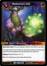 WOW WARCRAFT TCG CROWN OF THE HEAVENS : MALFURION'S GIFT X 3