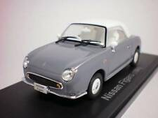 ## Nissan FIGARO 1:43 1/43 DieCast Model Close Lapis Gray, Norev, NEW RARE ##