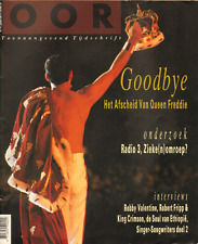 MAGAZINE OOR 1992 nr. 01 - KING CRIMSON / FREDDIE MERCURY / ROBBY VALENTINE