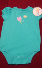 "INFANT GIRLS SHORT SLEEVE ""CIRCO"" EVERYDAY ROMPER SET   SIZE  3 MONTHS   NWT"