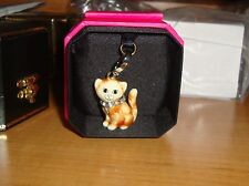 NEW JUICY COUTURE CAT CHARM FOR BRACELET, NECKLACE, HANDBAG OR KEYCHAIN