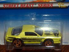 1997  Hot  Wheels  Blown Camaro  #559 Street Beast Series #3 No Country Base HW2