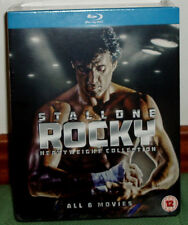 ROCKY THE COLLECTION COMPLETE 6 DISCS BLU-RAY NEW SPANISH (UNOPENED) R2