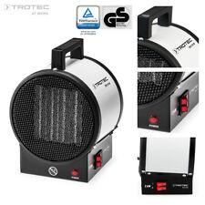TROTEC Calefactor Eléctrico TDS 10 M Portátil Calentador Ventilador Silencioso