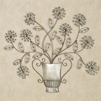 Bouquet de Amour Wall Art Platinum