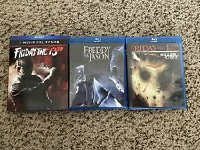 Friday the 13th Collection & Freddy Vs Jason Blu-ray Lot