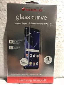 ZAGG - InvisibleShield Glass Curve Screen Protector for Samsung Galaxy S8
