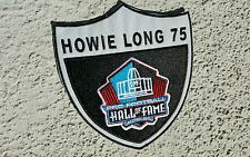 raiders patches.. RNFL.. raider nation Howie long . Hall of fan Oakland raiders