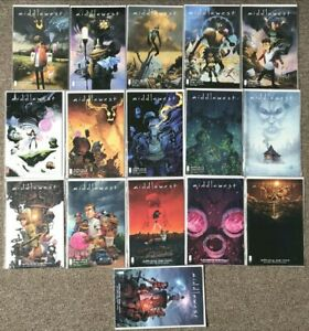 Middlewest #1-18 every Issue - Image Comics - Skottie Young Full set New