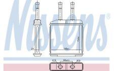 NISSENS Radiador de calefacción 76506