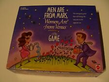 MEN ARE FROM MARS, WOMEN ARE FROM VENUS - THE GAME - RETRO 1998 - BOARD GAME!