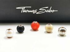 Thomas Sabo Beads ( 5er Set ) Silber  Schöne Farben Top Zustand Top Design