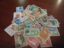 Collection lot 30 different stamps of Trinidad and Tobago