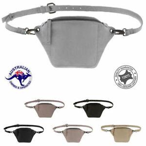 Bella Soft Leather Small Belt Bag/Bumbag Multi Color New