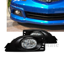 Fits Acura RSX Clear Lens Fog Lights Driving Bumper Kit W/Switch Wiring Bulbs