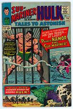 JERRY WEIST ESTATE: TALES TO ASTONISH #70 (Marvel 1965) VG+ Hulk Sub-Mariner