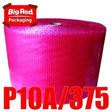 375mm x 100m Anti Static Bubblewrap Bubble Wrap Roll Safely wrap Electronics RED