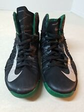 Nike Mens Hyperdunk  Shoes Black/Grey/Green Basketball Size 10.5 Shoes