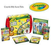 Crayola Silly Scent Tub Childrens Colouring Painting Markers Arts Crafts Bundle