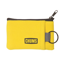 Chums Floating Marsupial Visible pocket keeps Id Yellow with black split ring