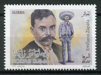 Algeria 2019 MNH Emiliano Zapata Mexican Revolutionary 1v Set Politicians Stamps
