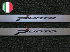 BATTITACCO FIAT GRANDE PUNTO EVO ACCIAIO INOX 3 PORTE STREET 60 X 3 CM TUNING