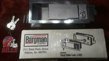 **VERY GOOD** BARGMAN L-400  LOCK AVION, BOLER, BURRO, YELLOWSTONE 2 NEW KEYS!