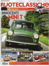 Ruoteclassiche 2018 352.Innocenti Mini T,Ferrari 250 GT 2+2,NSU-Fat 508 C,Mazda