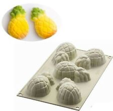 Stampo Multiporzione 5 Mini Ananas 3d Silicone Silikomart Mousse Torta mshop