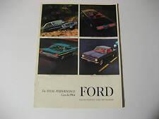 1964 Ford Brochure...Falcon, Fairlane Thunderbird