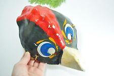 Rare! Vintage Soviet Christmas Mask Paper Carnival Mask harlequin USSR child