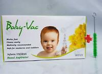 Baby Vac Nasal Vacuum Aspirator Suction Nose Cleaner Arianna UK Model 2020