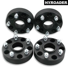 """4pc Black 5Lug 5x4.75 Hubcentric Wheel Spacers 1.5"""" for Chevy Corvette 1984-2017"""