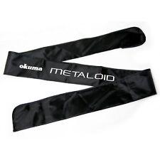 "Rod Bag for a 5'2"" 1pc Fishing Rod OKUMA Metaloid M-C-521MH BLACK"