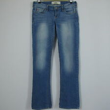 HOLLISTER CALIFORNIA Jeans Blue Denim Straight Leg Tag Size 5R W27 L33